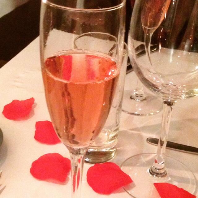 Valentines og anmeldelse af restaurant