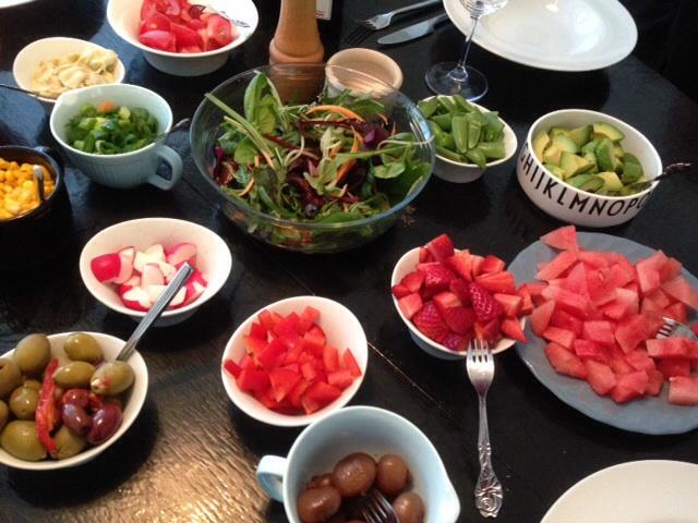 Lækker bland selv salat