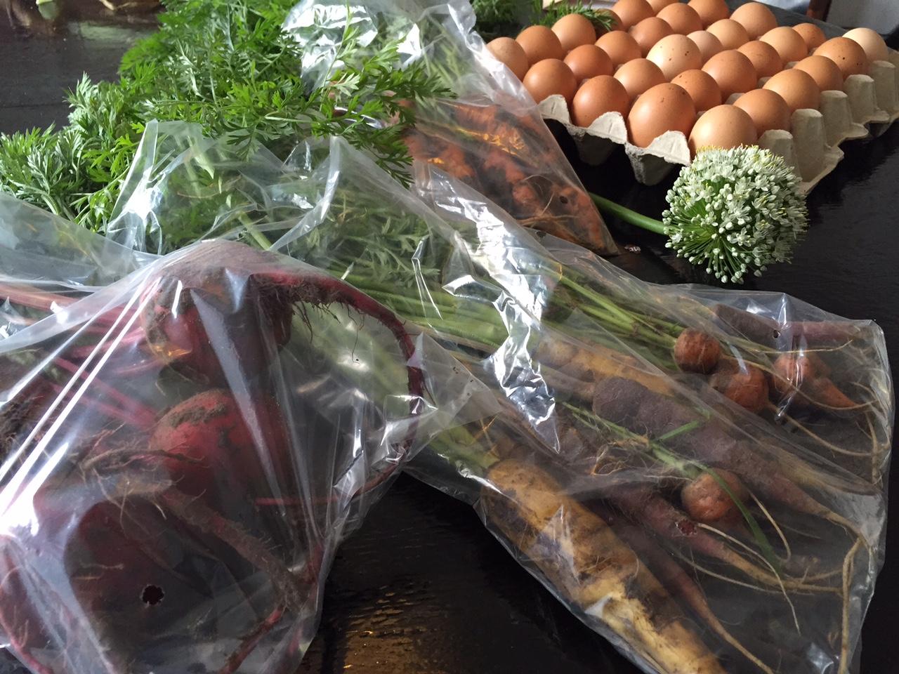 Økologisk gårdbutik