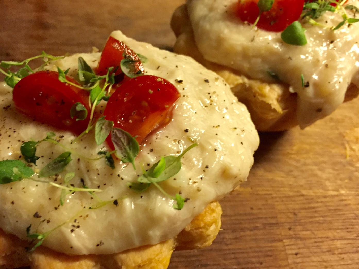 Tarteletter med høns i asparges - Guide