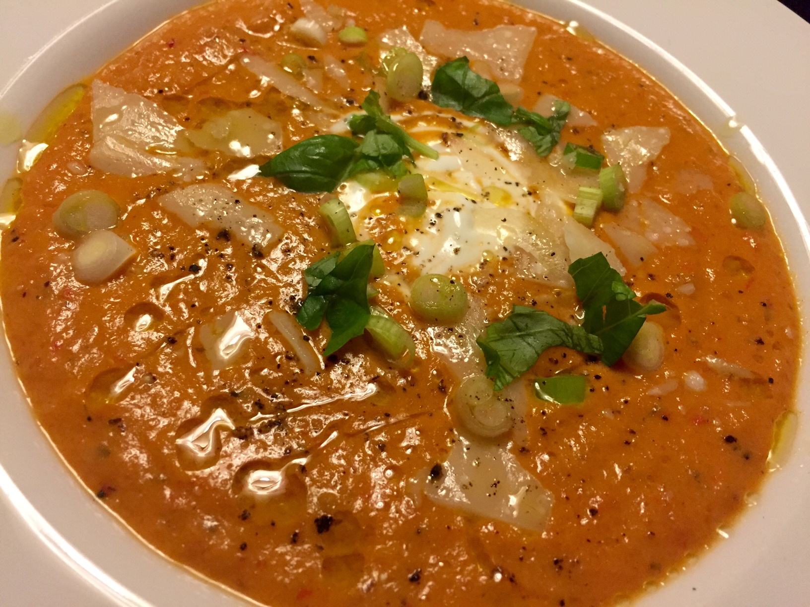 Tomatsuppe – krydret og cremet
