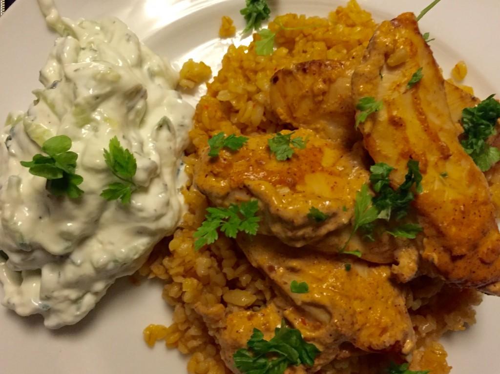 Tandoori kylling nem aftensmad