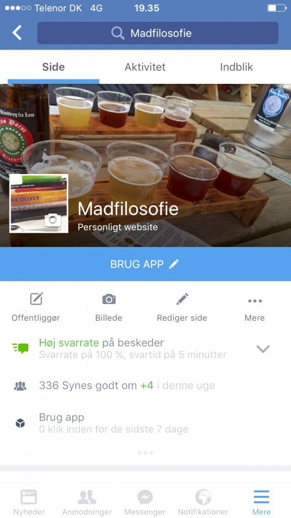 Synes godt om Madfilosofie på facebook VIND