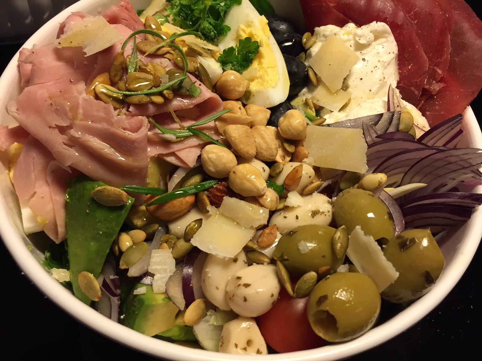 Salat som hovedmåltid
