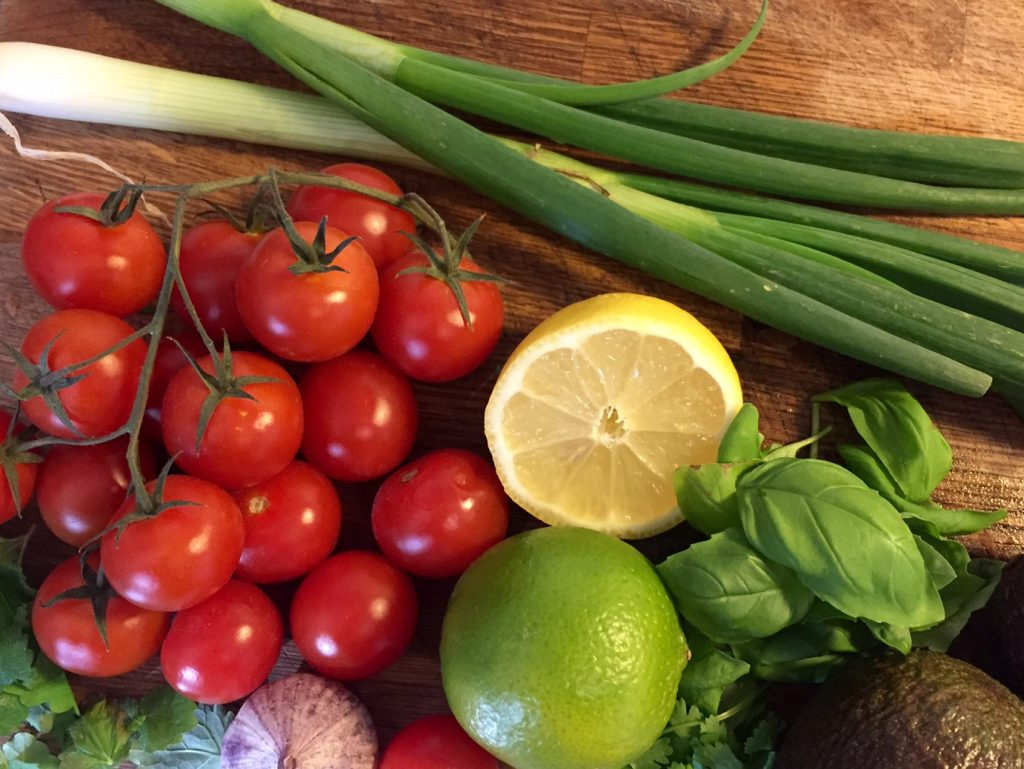 Frisk tomatsalsa