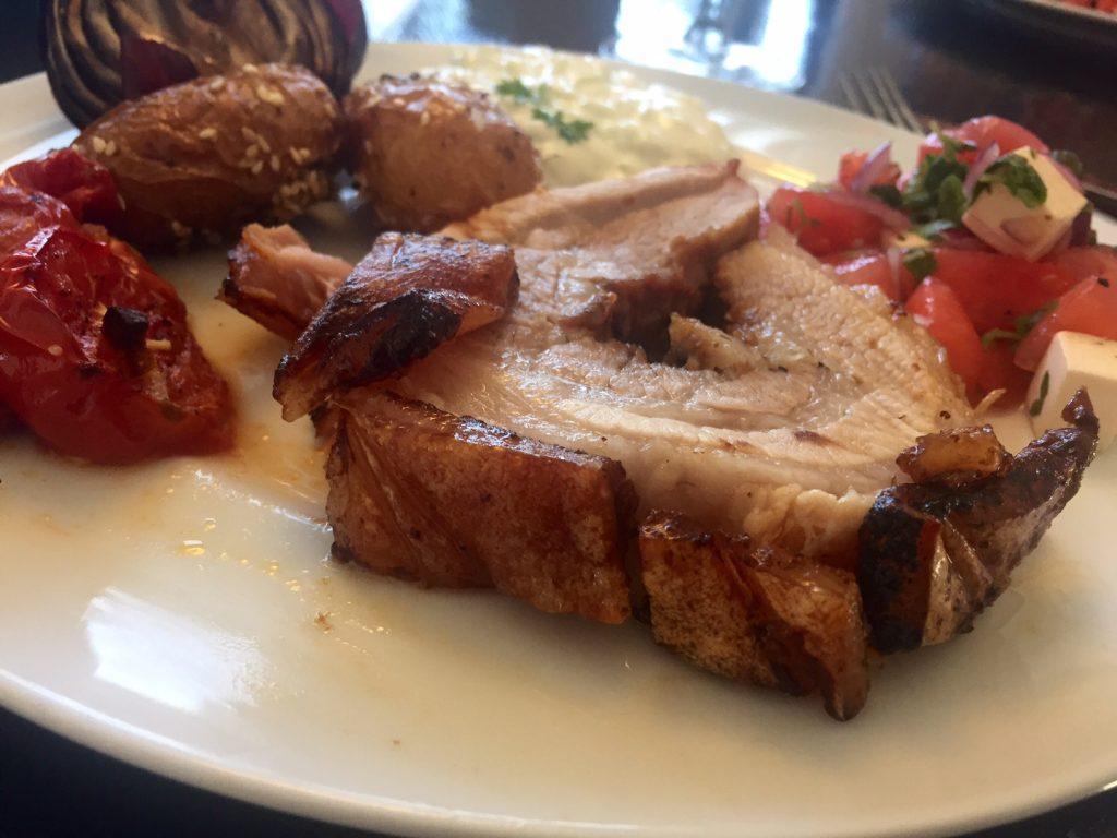 Grillet porchetta fra glad frilandsgris