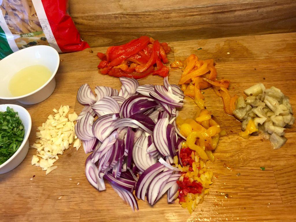Super lækker vegetarisk pastaret