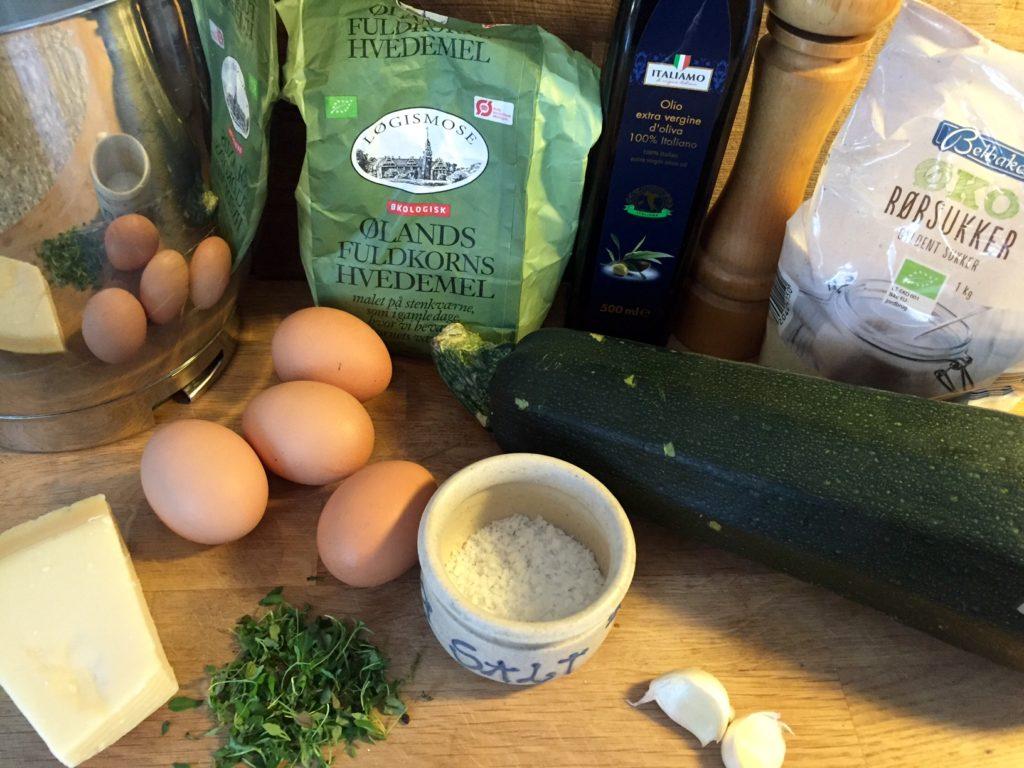 Sunde og super lækre squashmuffins