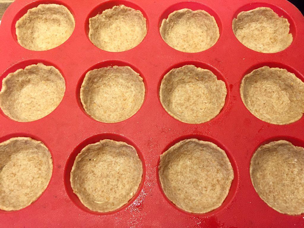 Sunde madpakketærter forklædt som muffins
