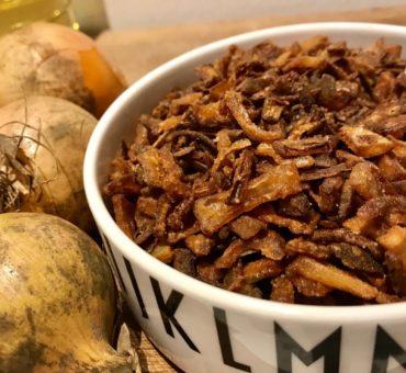 Hjemmelavede ristede løg - nemt og lækkert
